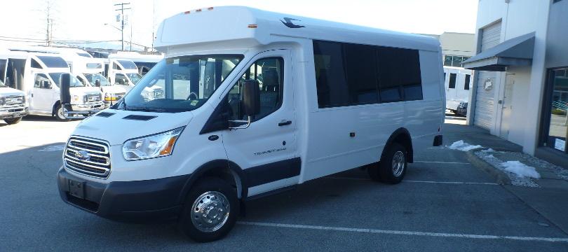 2018 Ford Girardin Ct Series Tour Shuttle Bus Dynamic