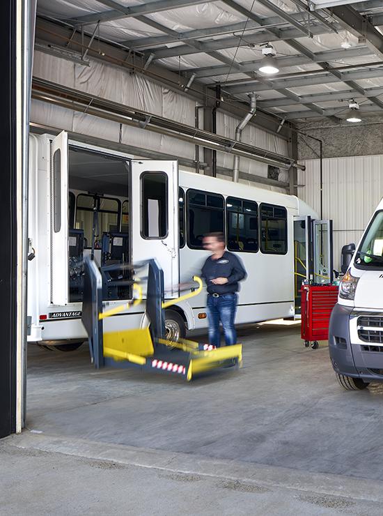 Service Work on Van