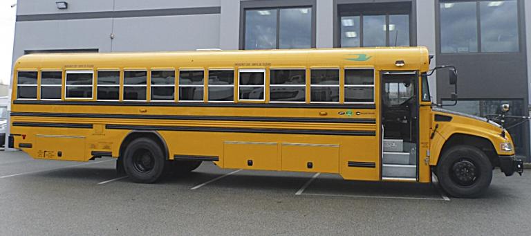2020 Blue Bird Vision Gasoline School Bus Dynamic